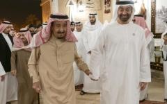 الصورة: محمد بن زايد: الإمارات والسعودية  في خندق واحد لحماية المصالح العربية