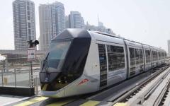 """الصورة: ترام دبي ينقل """"20"""" مليون راكب في 4 سنوات"""