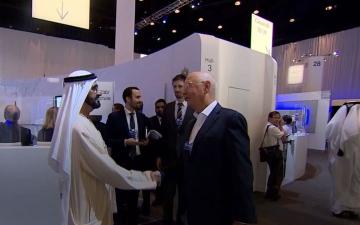 """الصورة: الإمارات و""""دافوس"""".. 10 سنوات في خدمة الإنسانية"""