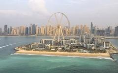 """الصورة: """"بلوواترز"""" الوجهة الأحدث من نوعها ومقرّ """"عين دبي"""" تفتح أبوابها للجمهور"""