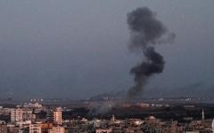 الصورة: 3 شهداء في تجدد الغارات على غزة