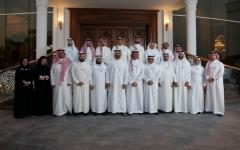 الصورة: محمد بن زايد يلتقي وفد غرفة تجارة الشرقية في المملكة العربية السعودية