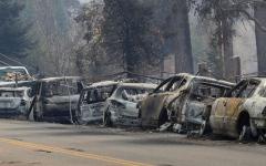 الصورة: حريق كاليفورنيا يصبح الأكثر دموية في تاريخ الولاية