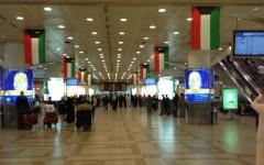 الصورة: تعليق الرحلات الجوية في مطار الكويت احترازياً