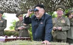 """الصورة: بيونغ يانغ تختبر سلاحاً """"عالي التقنية"""""""