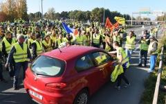 الصورة: وفاة متظاهرة وإصابة 47 شخصاً خلال احتجاجات في فرنسا