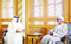 الصورة: محمد بن زايد: الإمارات وعُمان.. أخوة تزداد قوة ومحبة