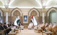 الصورة: محمد بن زايد: العلاقات بين الإمارات وباكستان تستند إلى تاريخ طويل من العمل المشترك