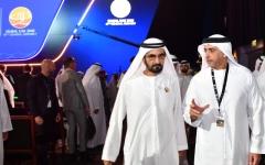 الصورة: محمد بن راشد: الإمارات تضع كافة الإمكانيات لمكافحة الجريمة ليعيش  الناس  بأمان وسعادة