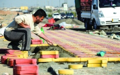 الصورة: رئيس الوزراء العراقي يتجه إلى «كسر الإرادات»