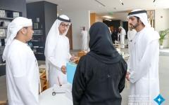 الصورة: بالفيديو.. حمدان بن محمد يلتقي نخبة من الطلبة المبتكرين