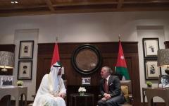 الصورة: محمد بن زايد والعاهل الأردني يبحثان علاقات البلدين والتطورات الإقليمية
