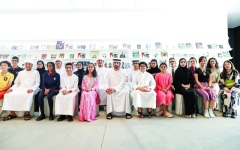 الصورة: حمدان بن محمد: نعوّل على الأجيال الجديدة في رسم مستقبل دبي