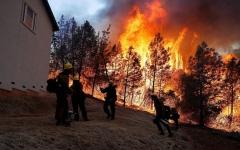 الصورة: ارتفاع حصيلة أكبر حريق في كاليفورنيا الى 81 قتيلاً