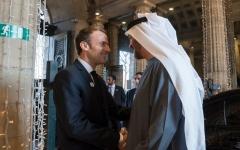 الصورة: محمد بن زايد: الإمارات وفرنسا شريكتان في الحرب على التطرف والإرهاب