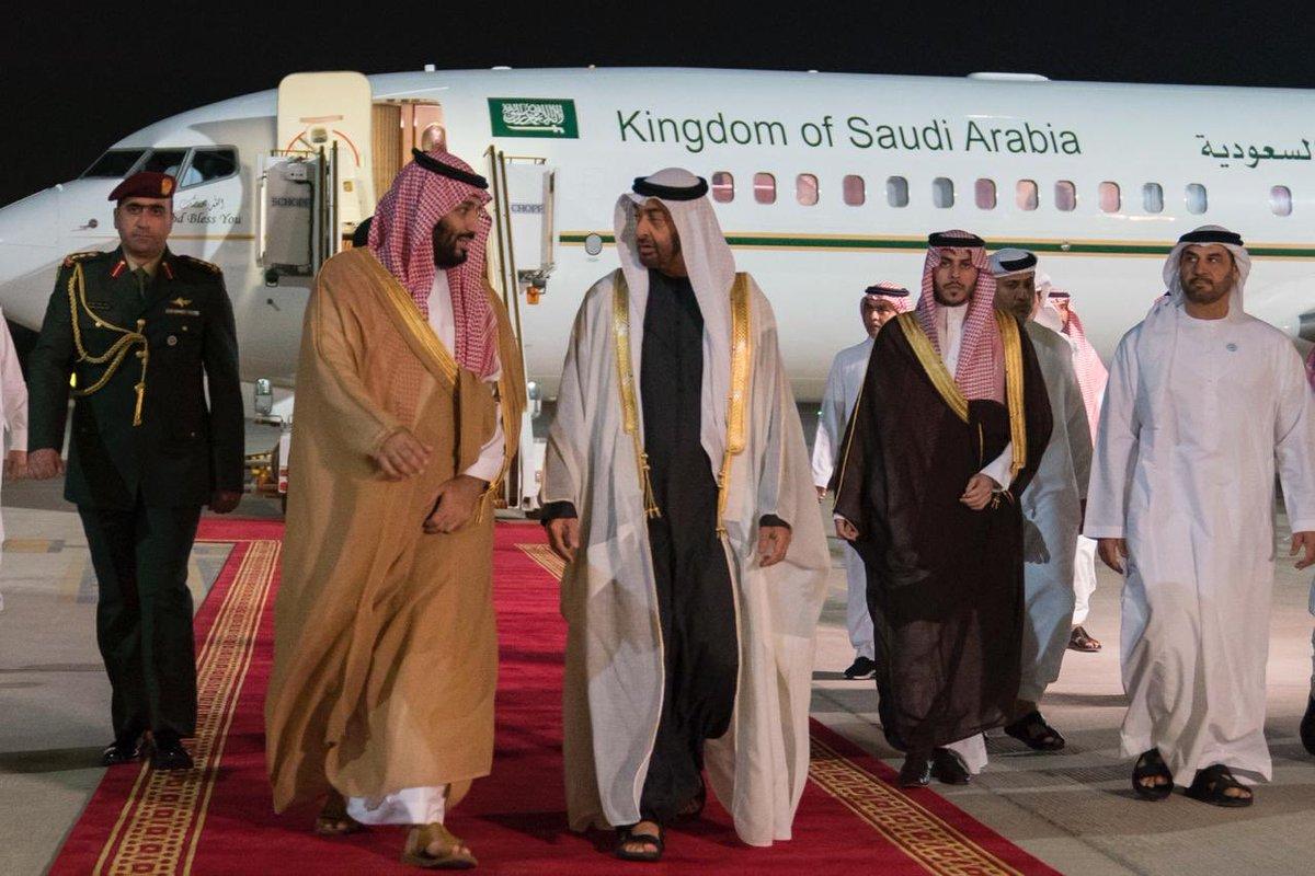 محمد بن سلمان يصل إلى الدولة ومحمد بن زايد في مقدمة ...