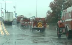 الصورة: شاهد.. مأساة كاليفورنيا تتأرجح بين الحرائق والمطر