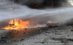 الصورة: 35 قتيلاً بتفجير قنبلة في باكستان