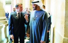 الصورة: الإمارات وفرنسا تعززان شراكتهما الاستراتيجية