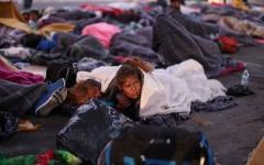الصورة: المكسيك : أزمة طوارئ إنسانية وسط مهاجري أميركا الوسطى