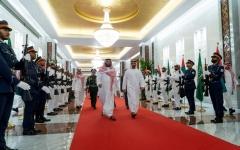 الصورة: محمد بن سلمان: علاقاتنا مع الإمارات أخوية متميزة
