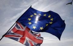 الصورة: قادة الاتحاد الأوروبي يقرون خروج بريطانيا بالإجماع