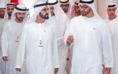 الصورة: محمد بن راشد ومحمد بن زايد يشهدان إطلاق 7 استراتيجيات وطنية مستقبلية