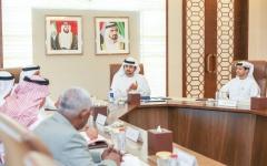 الصورة: مكتوم بن محمد يترأس اجتماع مجلس دبي القضائي