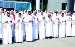 الصورة: «جمارك دبي»:صانوا تراب الوطن