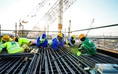 الصورة: عمال إكسبو دبي.. صحة وسلامة وترفيه