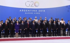 الصورة: انطلاق قمة مجموعة العشرين ومحمد بن سلمان يترأس وفد المملكة