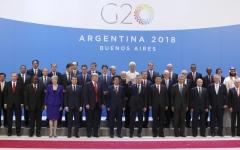 الصورة: قادة العالم يرحّبون بمحمد بن سلمان في قمة العشرين