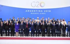 الصورة: مجموعة الـ 20 باستثاء أميركا تتعهد بتحقيق أهداف اتفاق باريس للمناخ