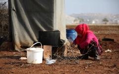 الصورة: النظام يقصف مناطق الهدنة في حماة وإدلب