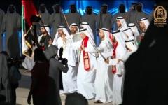 الصورة: حاكم رأس الخيمة يشارك في احتفالات الإمارة باليوم الوطني