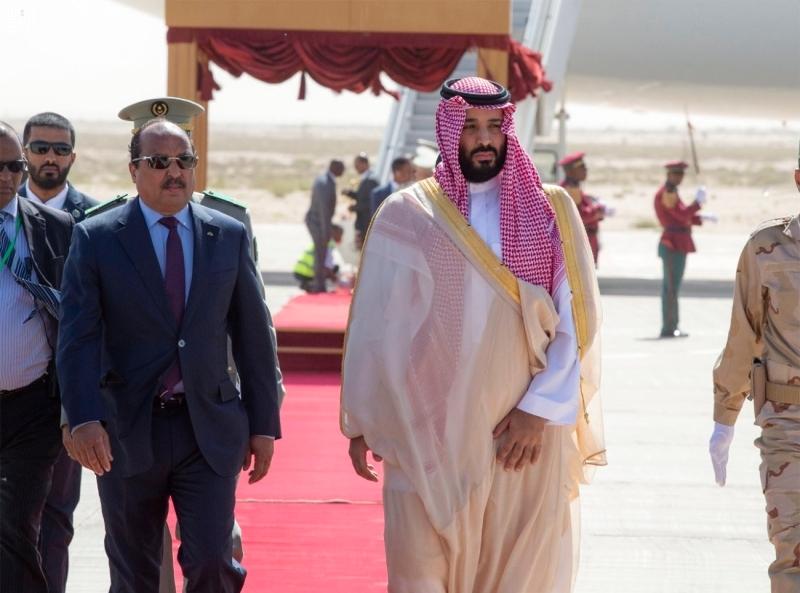 محمد بن سلمان يستأنف جولته العربية بموريتانيا والجزائر البيان