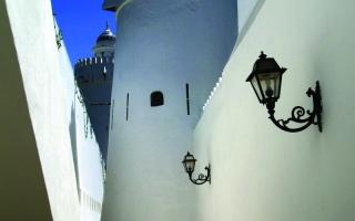 الصورة: الصورة: قصر الحصن بين المرويّات العربية وقصص الرحّالة