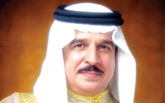 الصورة: عاهل البحرين يعيّن خليفة بن سلمان رئيساً لمجلس الوزراء