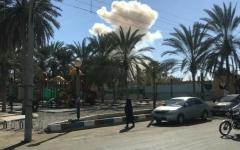 الصورة: قتلى وجرحى في انفجار كبير بإيران