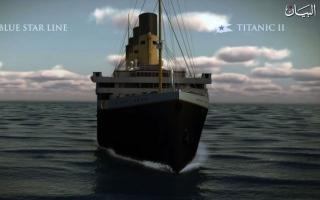 """الصورة: """"تايتانيك"""" تبحر من جديد ودبي باكورة رحلاتها"""