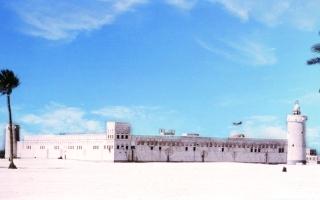 الصورة: الصورة: زايد وقصر الحصن.. دولة الاتحاد