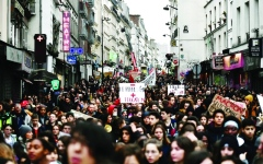 الصورة: 89 ألف عسكري استعداداً لاحتجاجات اليوم في فرنسا