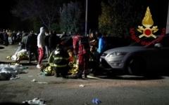 الصورة: مقتل 6 أشخاص في تدافع بملهى في إيطاليا