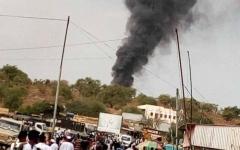 الصورة: مقتل 5 مسؤولين سودانيين في تحطم طائرة