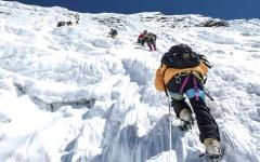 الصورة: ميــاه شرب لمتسلقي الجبال
