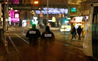 الصورة: الشرطة الفرنسية تخلي وسط مدينة ستراسبورغ