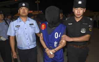 الصورة: الإعدام لصيني قتل 15 شخصاً دهساً وطعناً