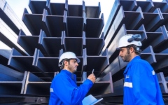 الصورة: 40.7 % حصة الألمنيوم والحديد والنحاس بصادرات أبوظبي