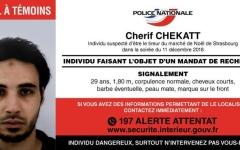 الصورة: مقتل شريف شيكات منفذ هجوم ستراسبورغ