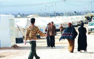 الصورة: الموسيقى والمسرح علاج نفسي في مخيم الزعتري